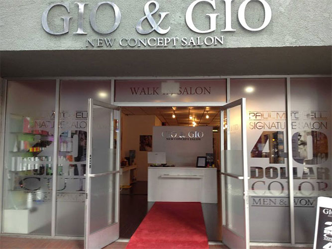 Gio and gio san diego hair salon paul mitchell a new for A salon paul mitchell san diego